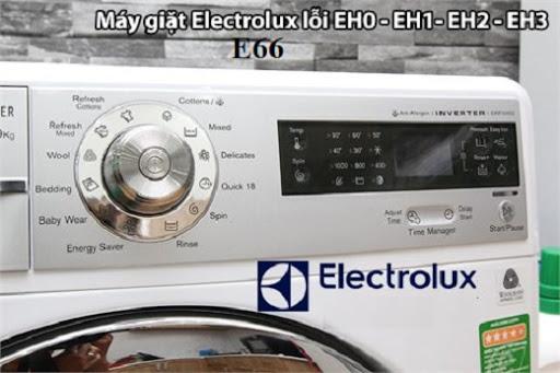 Máy giặt Electrolux báo lỗi E66