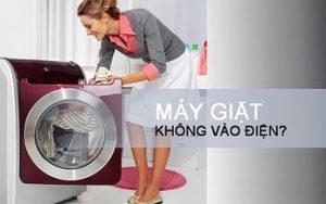 4 bước khắc phục máy giặt Eletrolux không vào điện